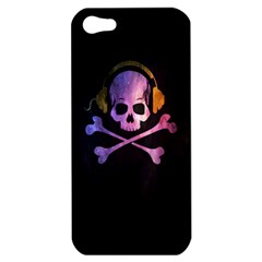 Rock Out With Your Skull Out    Apple Iphone 5 Hardshell Case by TheTalkingDead
