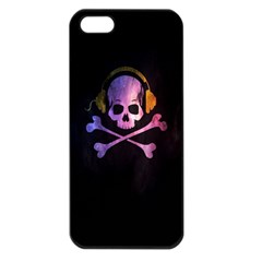 Rock Out With Your Skull Out    Apple Iphone 5 Seamless Case (black) by TheTalkingDead