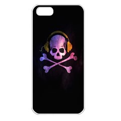 Rock Out With Your Skull Out    Apple Iphone 5 Seamless Case (white) by TheTalkingDead