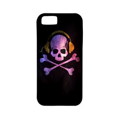 Rock Out With Your Skull Out    Apple Iphone 5 Classic Hardshell Case (pc+silicone) by TheTalkingDead