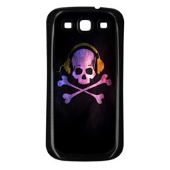 Rock Out With Your Skull Out    Samsung Galaxy S3 Back Case (black) by TheTalkingDead