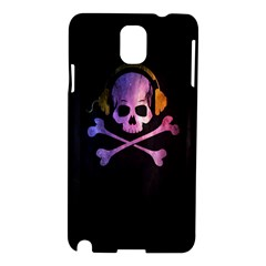 Rock out with your Skull out... Samsung Galaxy Note 3 N9005 Hardshell Case by TheTalkingDead