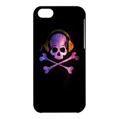 Rock Out With Your Skull Out    Apple Iphone 5c Hardshell Case by TheTalkingDead
