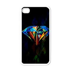 Diamonds are forever. Apple iPhone 4 Case (White) by TheTalkingDead