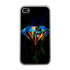 Diamonds Are Forever  Apple Iphone 4 Case (clear)