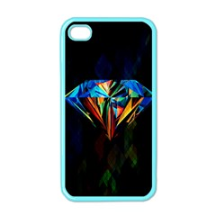 Diamonds are forever. Apple iPhone 4 Case (Color) by TheTalkingDead