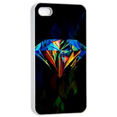 Diamonds Are Forever  Apple Iphone 4/4s Seamless Case (white) by TheTalkingDead