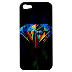 Diamonds Are Forever  Apple Iphone 5 Hardshell Case by TheTalkingDead