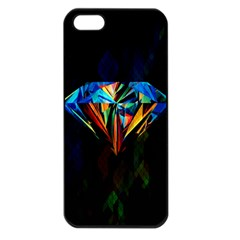 Diamonds Are Forever  Apple Iphone 5 Seamless Case (black) by TheTalkingDead