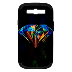 Diamonds Are Forever  Samsung Galaxy S Iii Hardshell Case (pc+silicone) by TheTalkingDead