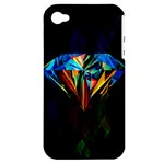 Diamonds are forever. Apple iPhone 4/4S Hardshell Case (PC+Silicone)