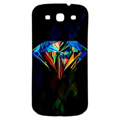 Diamonds Are Forever  Samsung Galaxy S3 S Iii Classic Hardshell Back Case by TheTalkingDead