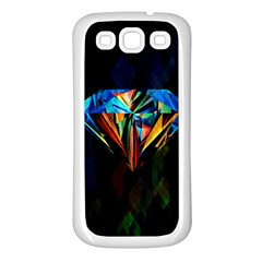 Diamonds Are Forever  Samsung Galaxy S3 Back Case (white) by TheTalkingDead