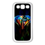 Diamonds are forever. Samsung Galaxy S3 Back Case (White)