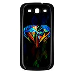 Diamonds are forever. Samsung Galaxy S3 Back Case (Black)