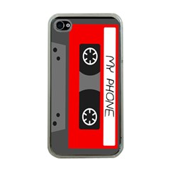Cassette Phone Apple Iphone 4 Case (clear) by TheTalkingDead