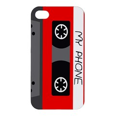 Cassette Phone Apple Iphone 4/4s Hardshell Case by TheTalkingDead