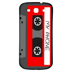 Cassette Phone Samsung Galaxy S3 S Iii Classic Hardshell Back Case by TheTalkingDead