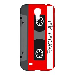Cassette Phone Samsung Galaxy S4 I9500/i9505 Hardshell Case by TheTalkingDead