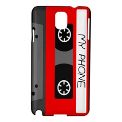 Cassette Phone Samsung Galaxy Note 3 N9005 Hardshell Case by TheTalkingDead