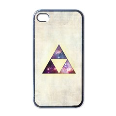Cosmic Triangles Apple Iphone 4 Case (black) by Contest1775858