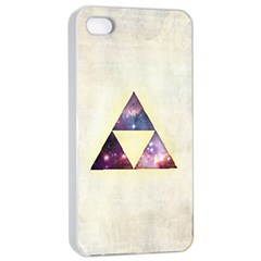 Cosmic Triangles Apple Iphone 4/4s Seamless Case (white) by Contest1775858