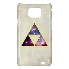 Cosmic Triangles Samsung Galaxy S II i9100 Hardshell Case  by Contest1775858