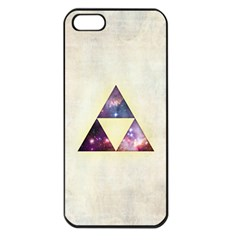 Cosmic Triangles Apple Iphone 5 Seamless Case (black) by Contest1775858
