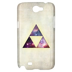 Cosmic Triangles Samsung Galaxy Note 2 Hardshell Case by Contest1775858