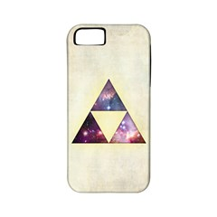 Cosmic Triangles Apple Iphone 5 Classic Hardshell Case (pc+silicone) by Contest1775858
