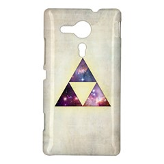 Cosmic Triangles Sony Xperia Sp M35H Hardshell Case by Contest1775858
