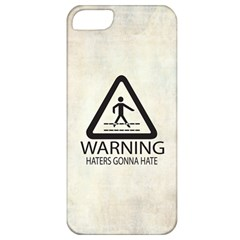 Warning: Haters Gonna Hate Apple Iphone 5 Classic Hardshell Case
