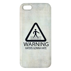 Warning: Haters Gonna Hate Iphone 5 Premium Hardshell Case