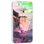 Lighthouse Apple iPhone 4/4s Seamless Case (White)