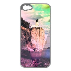 Lighthouse Apple Iphone 5 Case (silver) by Contest1775858