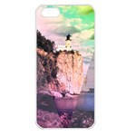 Lighthouse Apple iPhone 5 Seamless Case (White)