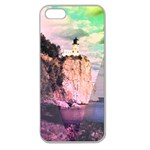 Lighthouse Apple Seamless iPhone 5 Case (Clear)