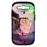 Lighthouse Samsung Galaxy S III Hardshell Case (PC+Silicone)