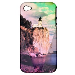 Lighthouse Apple Iphone 4/4s Hardshell Case (pc+silicone) by Contest1775858
