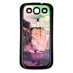 Lighthouse Samsung Galaxy S3 Back Case (Black)