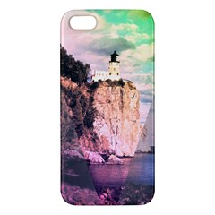 Lighthouse Iphone 5s Premium Hardshell Case by Contest1775858