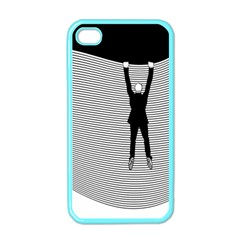 hang On The Phone!  Apple Iphone 4 Case (color) by doodlelabel
