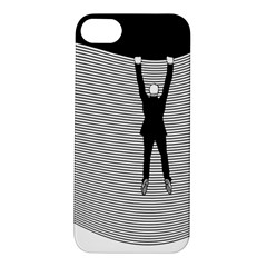 Hang On The Phone!  Apple iPhone 5S Hardshell Case by doodlelabel