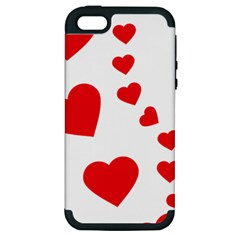 Follow Your Heart Apple Iphone 5 Hardshell Case (pc+silicone)