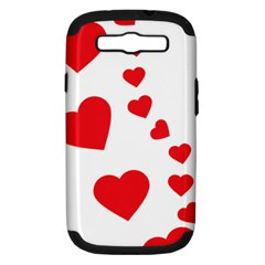 Follow Your Heart Samsung Galaxy S Iii Hardshell Case (pc+silicone)