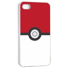 Let s Catch  em All! Apple Iphone 4/4s Seamless Case (white)
