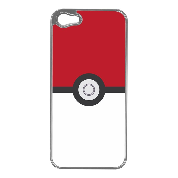 Let s Catch  Em All! Apple iPhone 5 Case (Silver)
