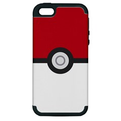 Let s Catch  em All! Apple Iphone 5 Hardshell Case (pc+silicone)
