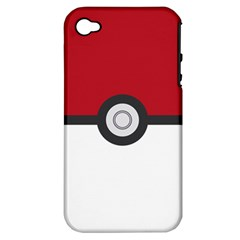 Let s Catch  em All! Apple Iphone 4/4s Hardshell Case (pc+silicone)