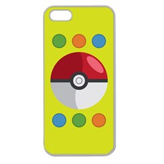 Starters Apple Seamless Iphone 5 Case (clear) by ContestDesigns